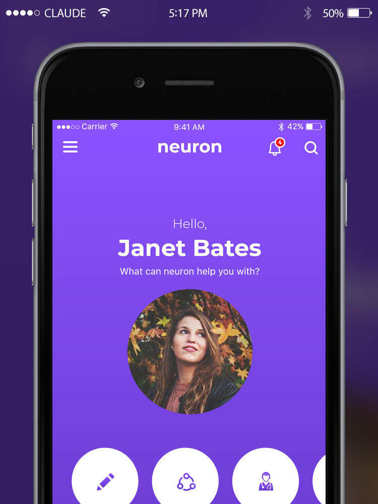 Neuron App Concept Redesign by www.iamrakesh.com | Life and Travel by Rakesh | UI/UX Designer | Vlogger