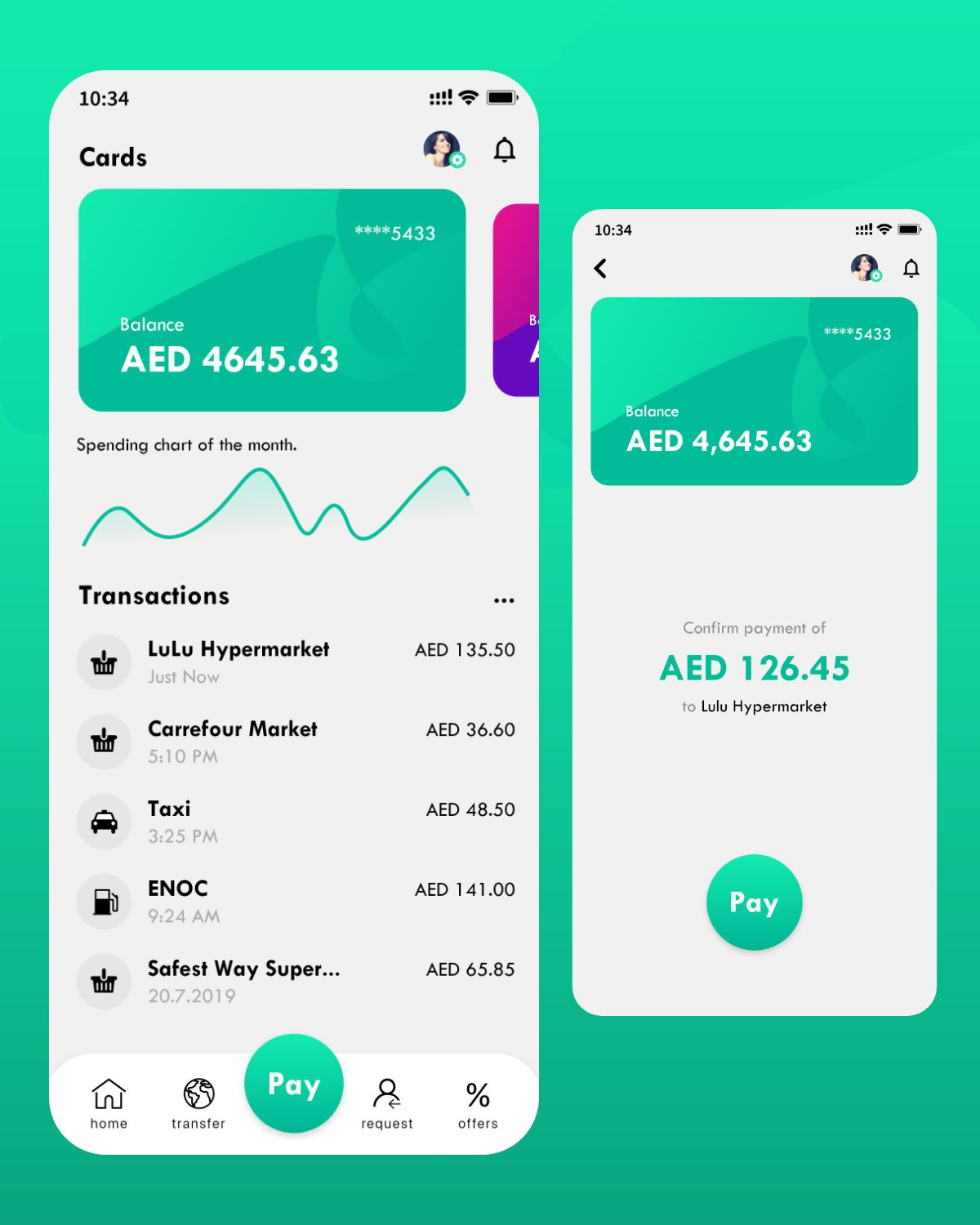 Wallet App UI/UX Design by www.iamrakesh.com | Life and Travel by Rakesh | UI/UX Designer | Vlogger